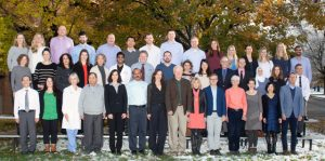 photo of all faculty